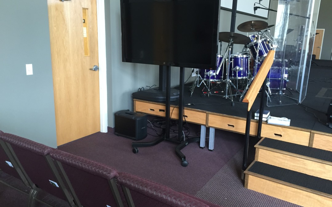 Place a 55″ TV anywhere!