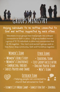 6 - Groups Ministry