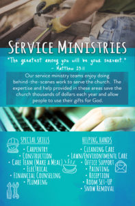 7 - Service Ministries Serve